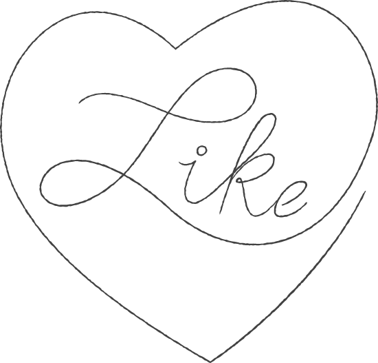 Like Heart Sticker