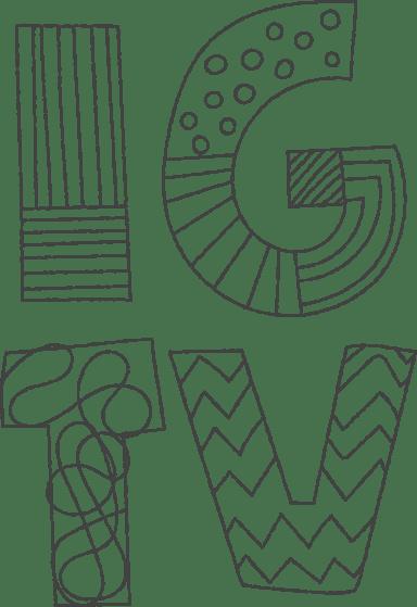 IGTV Pattern Sticker