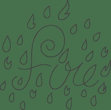 Raining Fire Sticker