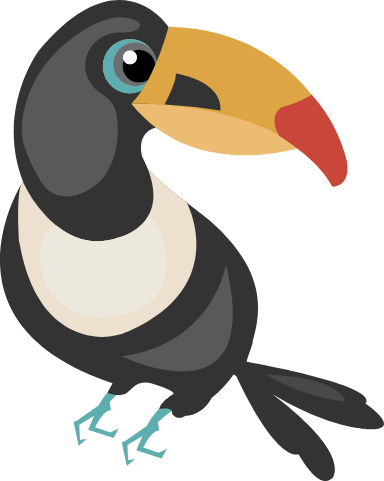 Yellow-Beaked Toucan