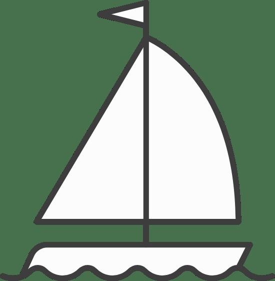Cutter Sailboat