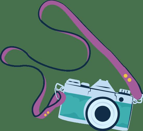 Camera & Strap