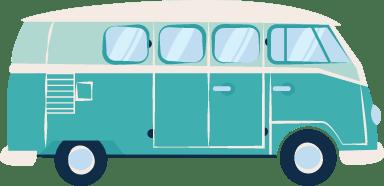 Retro Camper Van