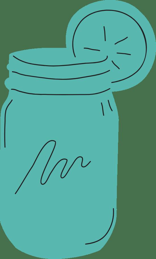 Mason Jar Iced Tea
