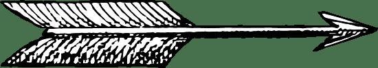 Long Fletched Arrow