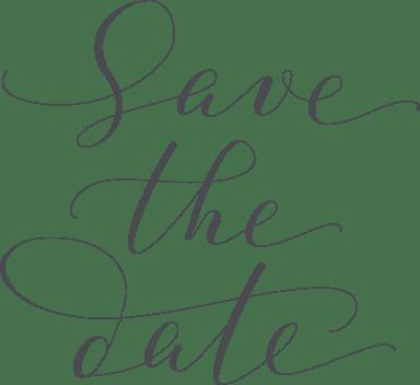 Save the Date Script