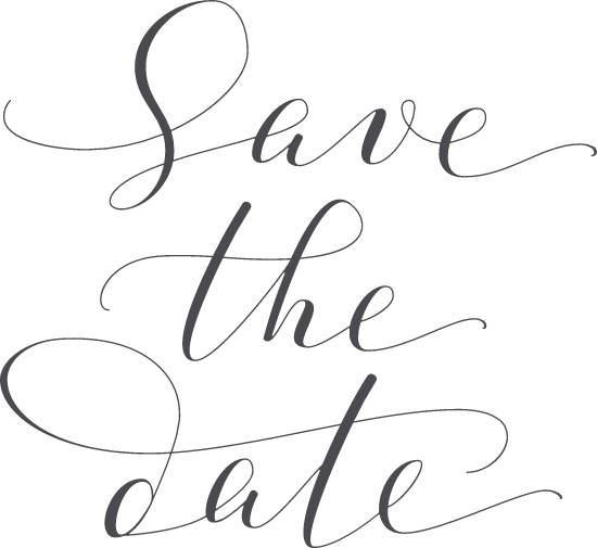 Save the Date Script