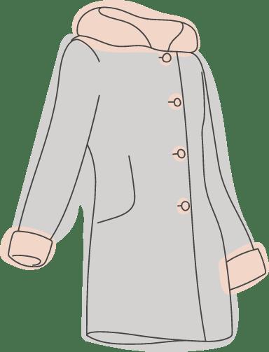 Trimmed Coat