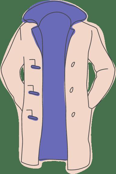 Horn Button Coat