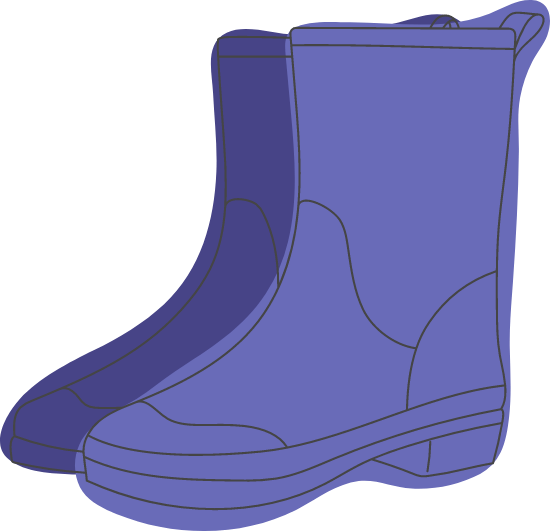 Rubber Galoshes