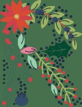 """Floral Letter """"R"""""""