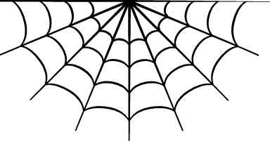 Semicircle Spider Web