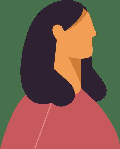 Shoulder Hair Profile Woman