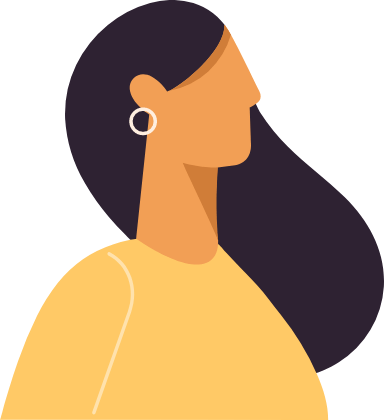 Side Hair Profile Woman