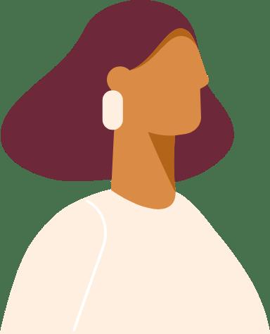 Short Hair Profile Woman