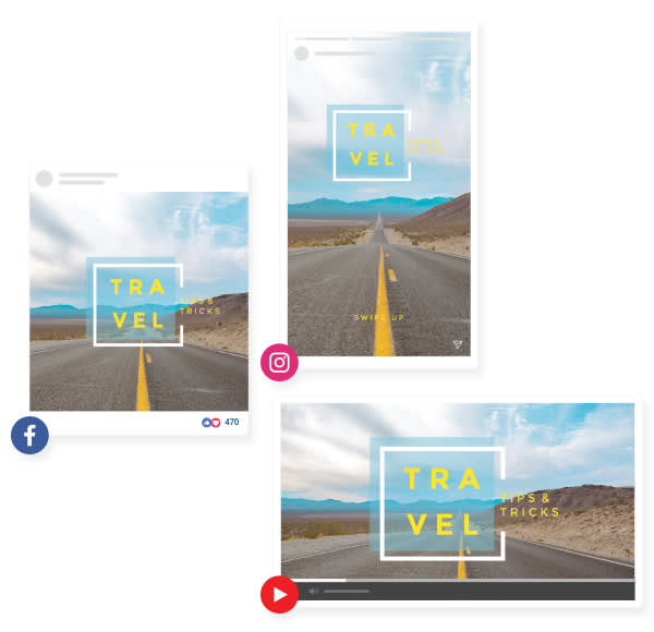 Resize photos for social media online with PicMonkey