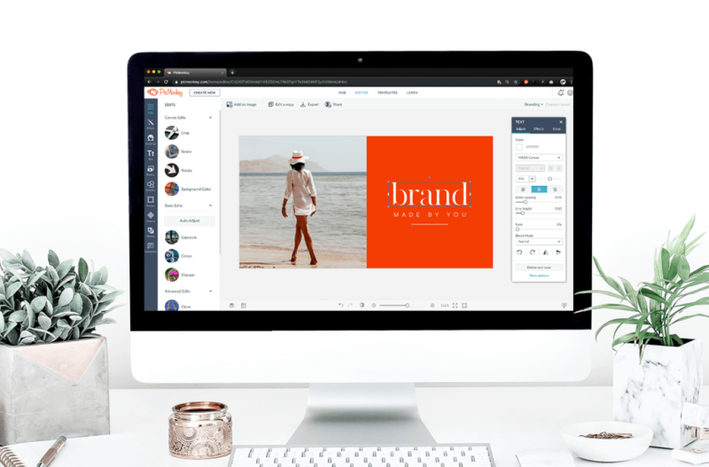 PicMonkey has the tools you need to create a strong brand for your business.