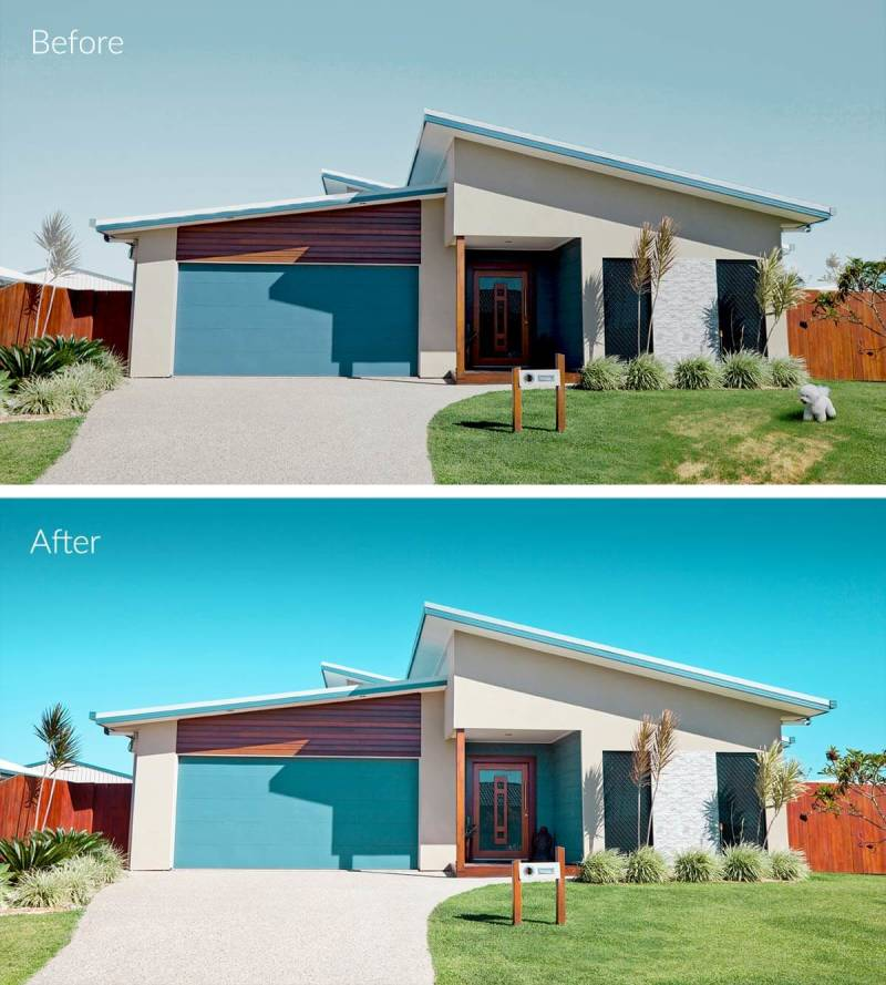 before after real estate