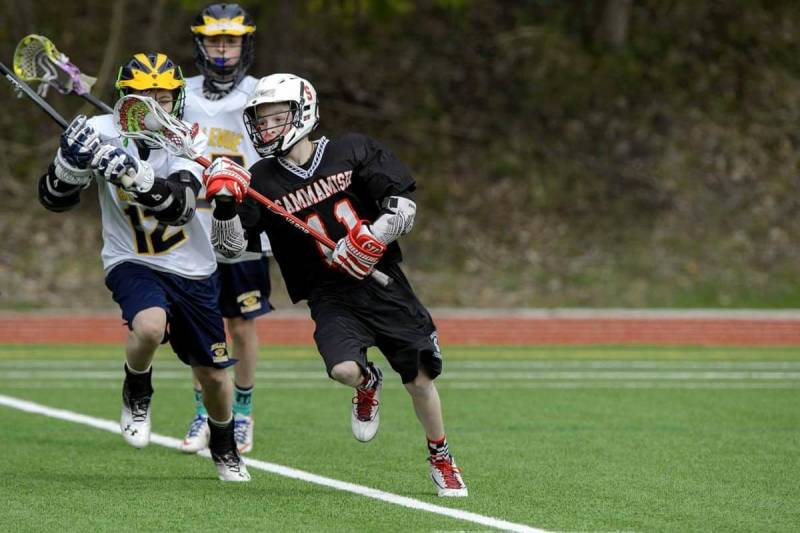 Sports photography: twist at the waist to follow the action with your lens