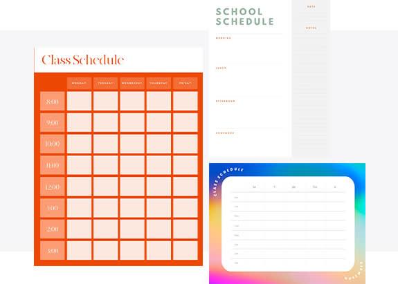 Class Schedule Maker