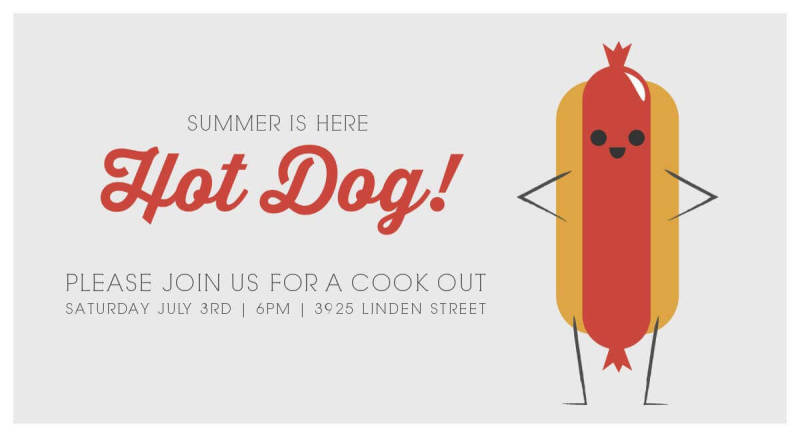Create beautiful party invitations for any occasion with PicMonkey's new 4th of July graphics.