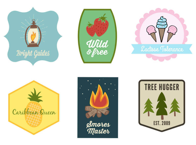 Design your own custom patches with PicMonkey's newest graphics.
