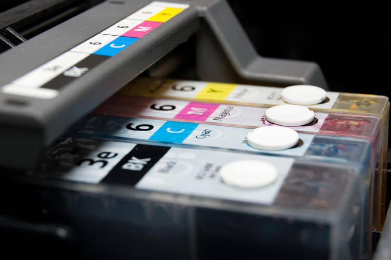 An inkjet printer can be useful when printing your own professional business cards at home.