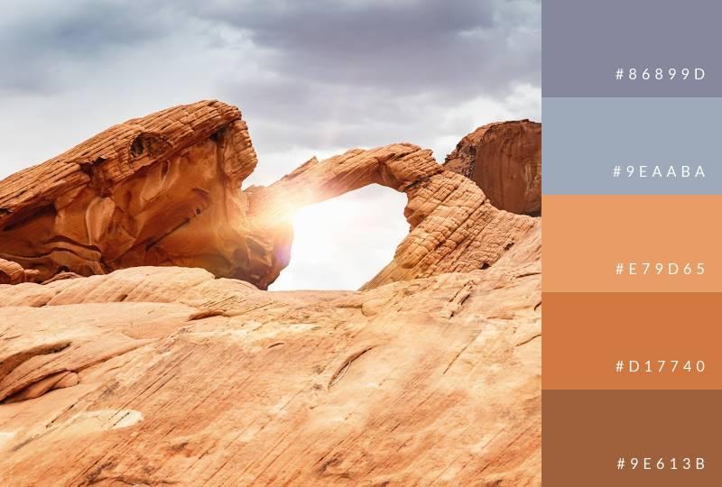 color-palette-arch-rock-sunbeam