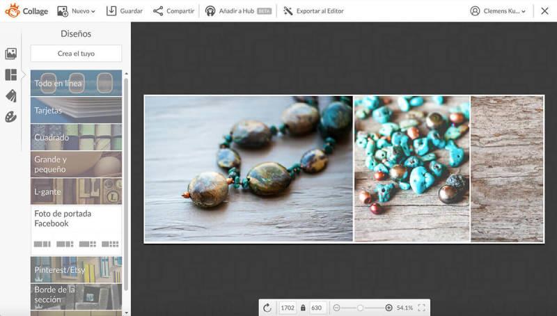Collage, cómo crear un banner, banner de fotos, PicMonkey