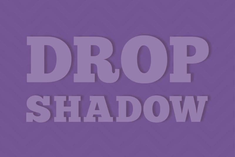 Make your words stand out with text effects, like Drop Shadow.