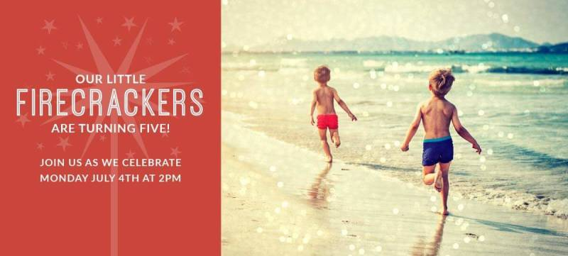 Create gorgeous party invitations with PicMonkey's new 4th of July graphics and online collage maker.