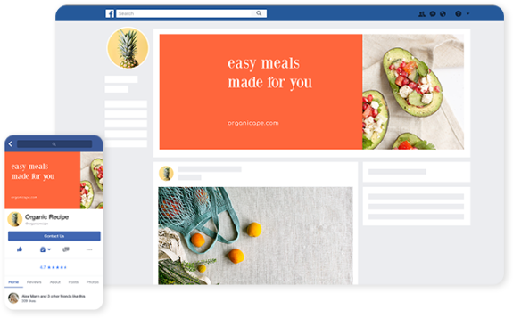 design facebook ads step by step with templates