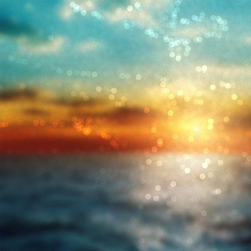 Add bokeh effects to your fuzzy pics (like this ocean shot) with PicMonkey.
