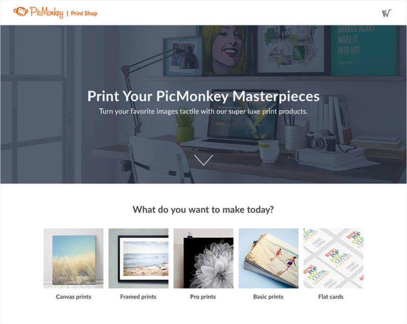 picmonkey print