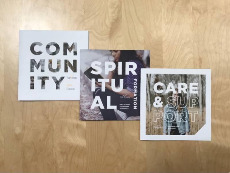Church Community Brochure Design Examples