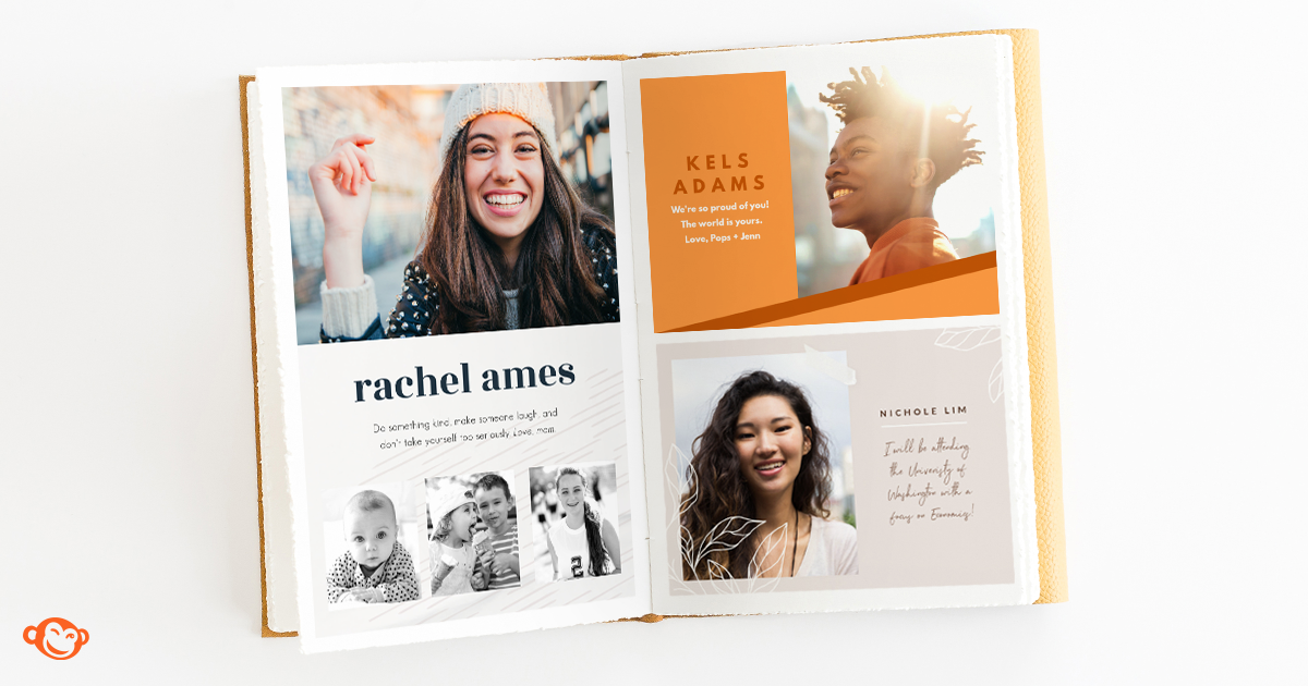 How To Design A Senior Yearbook Ad Picmonkey Blog Senior Photo Page