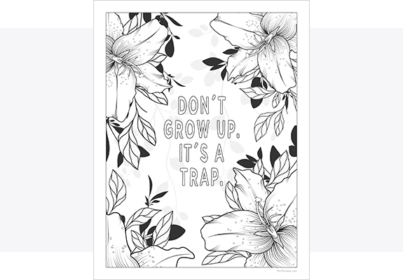 Printable Coloring Pages Maker Create Your Own Printable Coloring Pages  Online PicMonkey