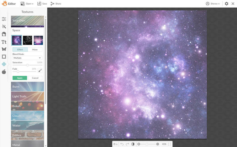 To get a great meme background, check out the texture options in PicMonkey.