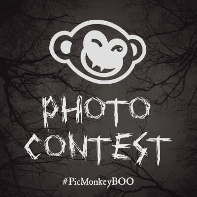 A vampiric PicMonkey graphic announces our Halloween Photo Contest.