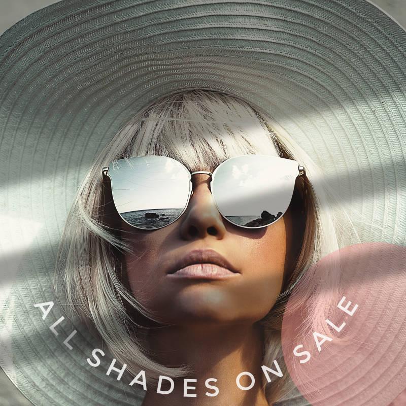 sunglasses on sale instagram post