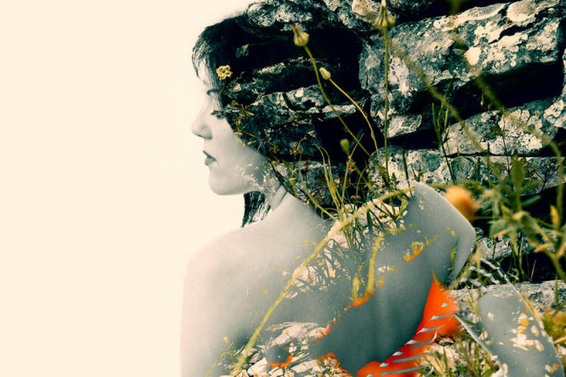 Photographer Ana Jovanovic shows how to make a double exposure that's half manmade, half natural world.