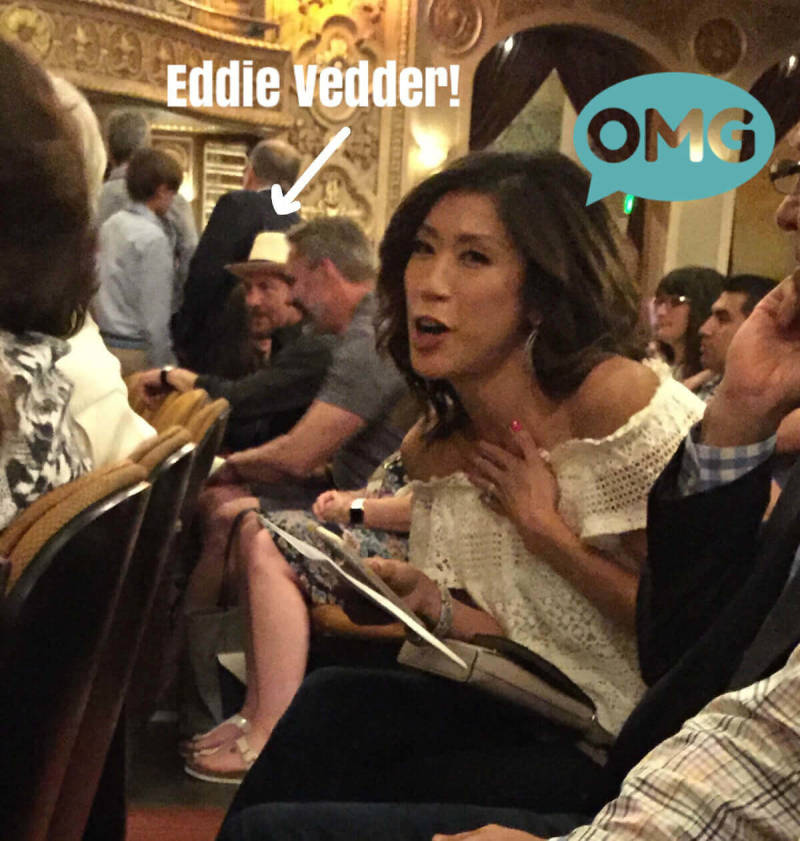 This mobile photo was enhanced by PicMonkey staff. Perfected by Eddie Vedder.