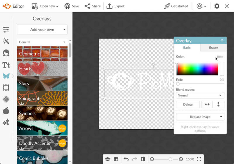 Customize your graphics in PicMonkey.