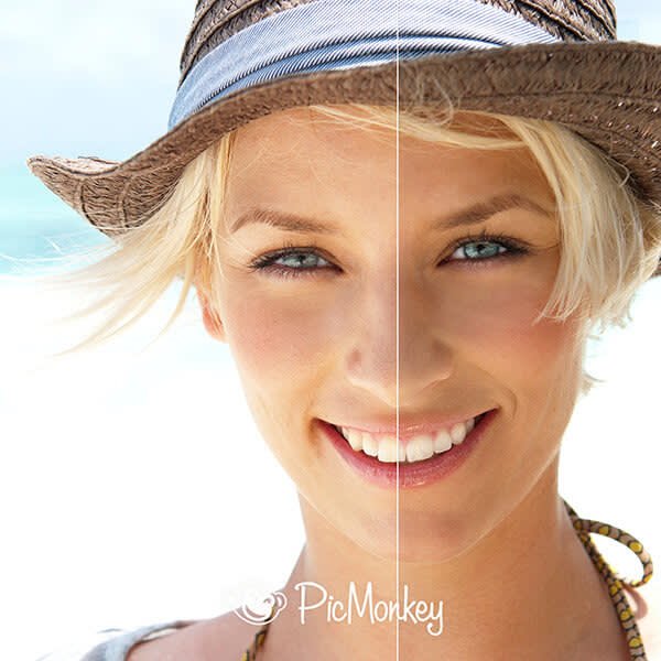 Let's be safe out there, friends! Spray Tan effect gives your pics the complexion that says