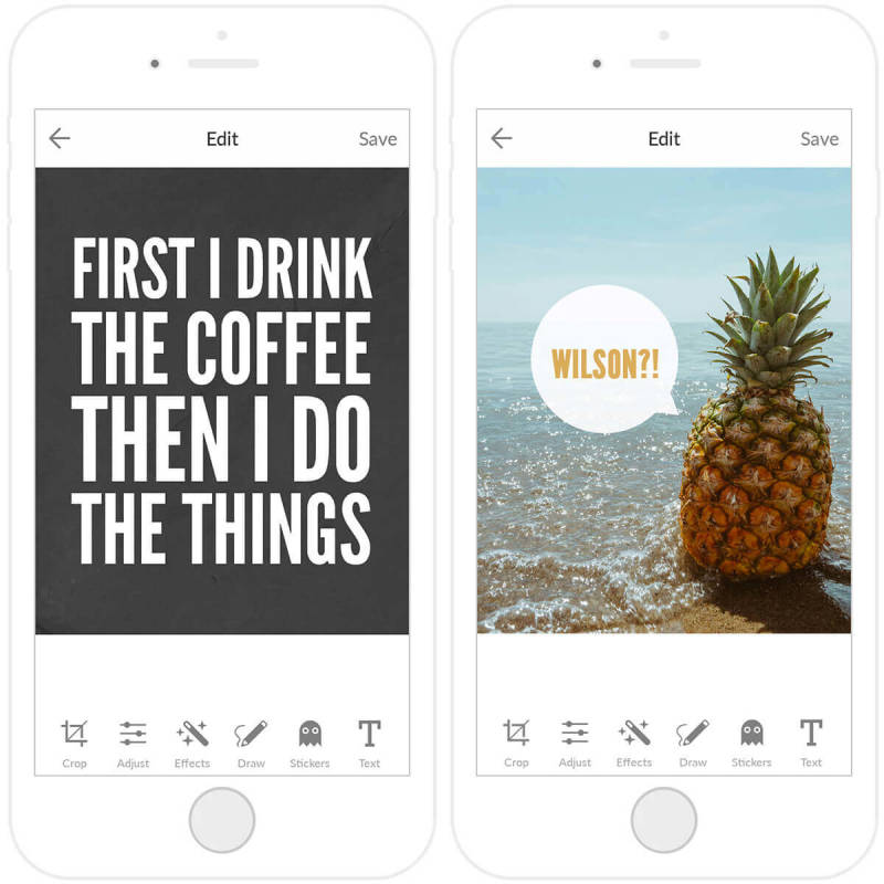 Learn to create sharable images with the PicMonkey mobile app.