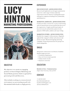 lucy-hinton-resume-template