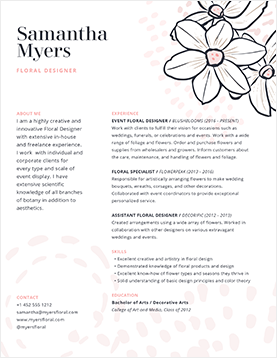 sam-myers-resume-template