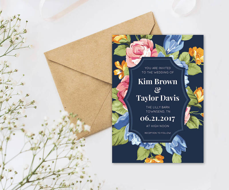Wedding invitation wording: a quick and easy guide.