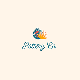 pottery co. logo template