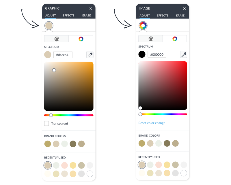 03 palette color picker vs swatch grid